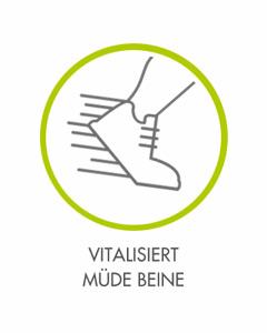 VITALISIERT MÜDE BEINE