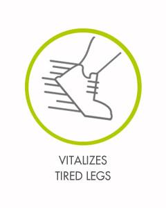 Vitalizes Tired Legs