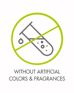 Without Artificial Colors and Fragrances